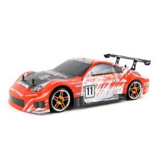 Радиоуправляемая машина для дрифта 1:10 4WD Subaru, оранжев. (36 см)